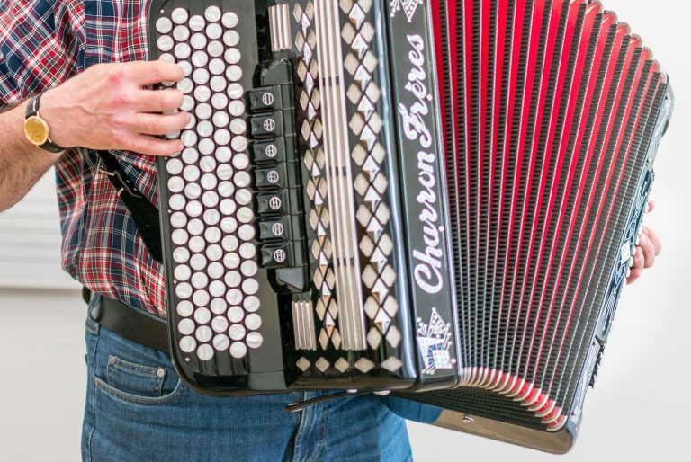 accordeonles, accordeon, Muziekschool Krimpen