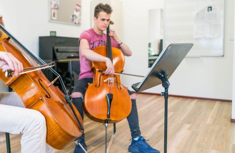 celloles bij Muziekschool Krimpen