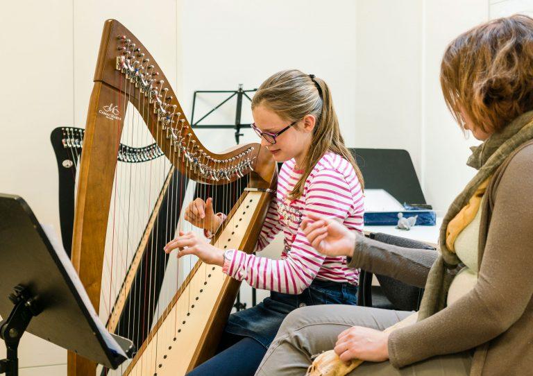 harples bij Muziekschool Krimpen