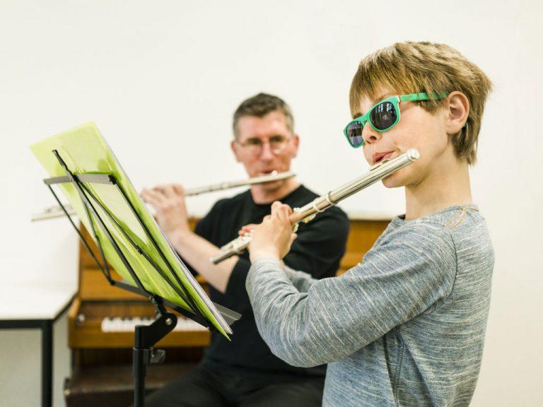 dwarsfluitles bij Muziekschool Krimpen