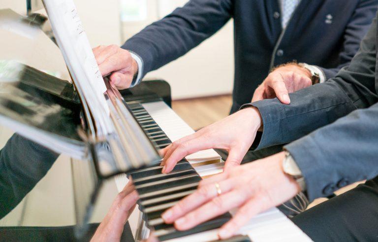 pianoles, de piano, Muziekschool Krimpen