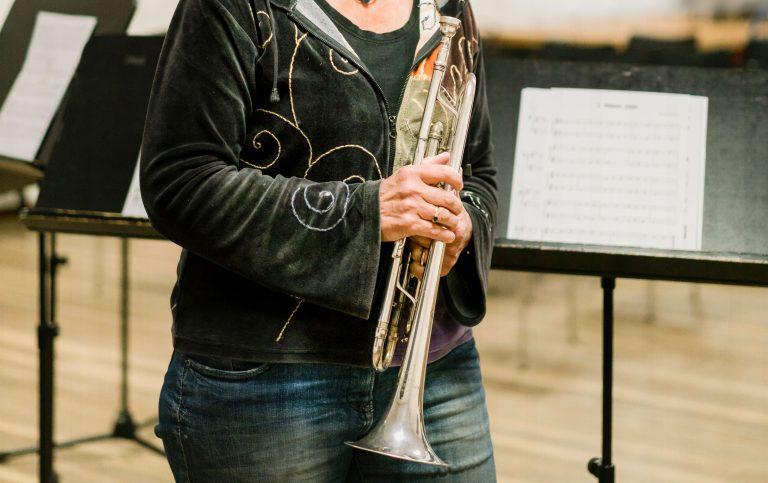 trompetles, trompet, Muziekschool Krimpen