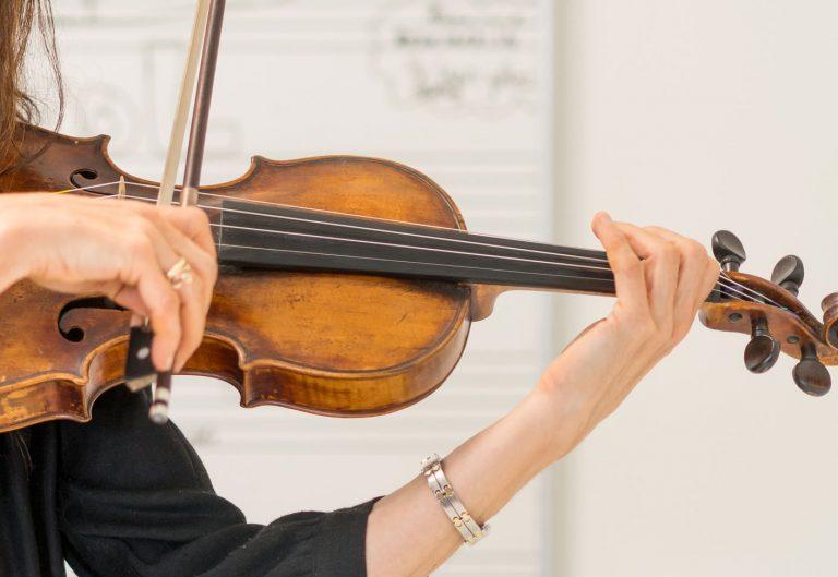 vioolles, viool, Muziekschool Krimpen