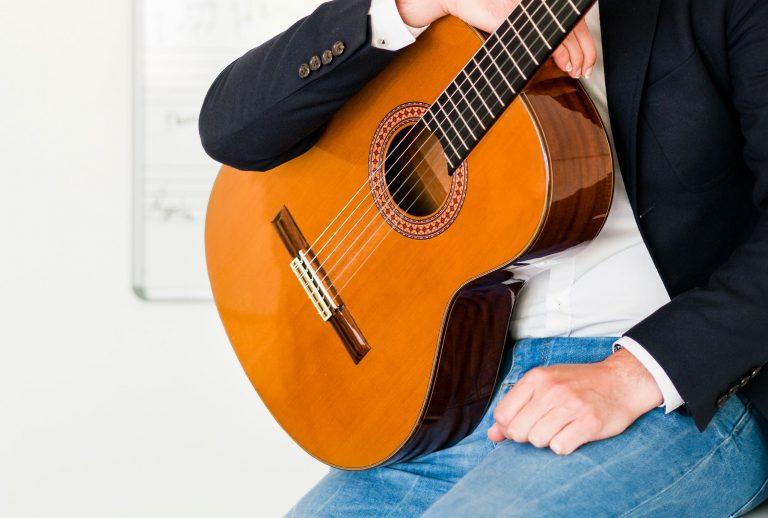 akoestische gitaar, gitaarles