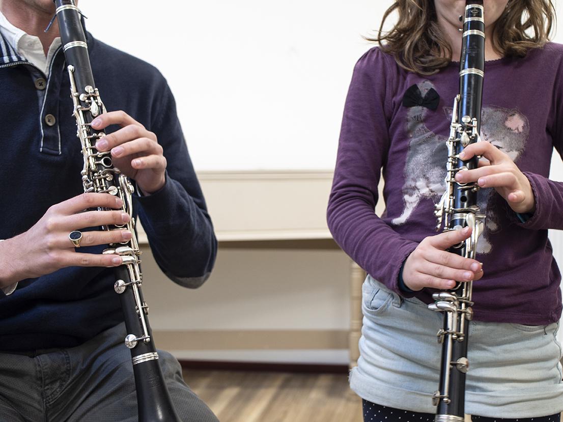 klarinetles, de klarinet, Muziekschool Krimpen