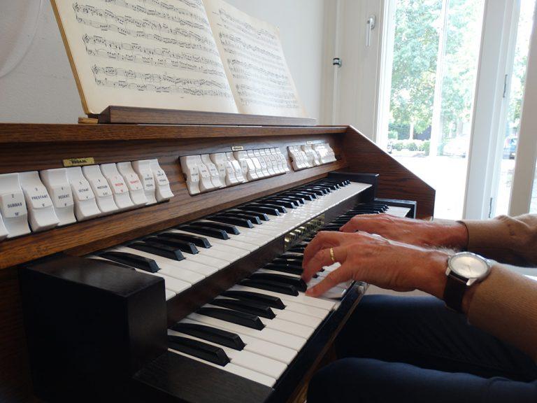orgelles, orgel, Muziekschool Krimpen